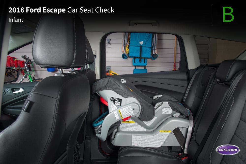 2016 Ford Escape Car Seat Check