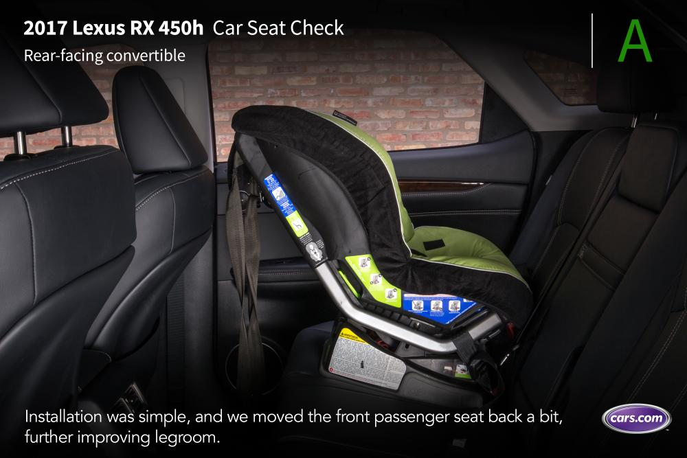 2017 Lexus RX 450h Car Seat Check News