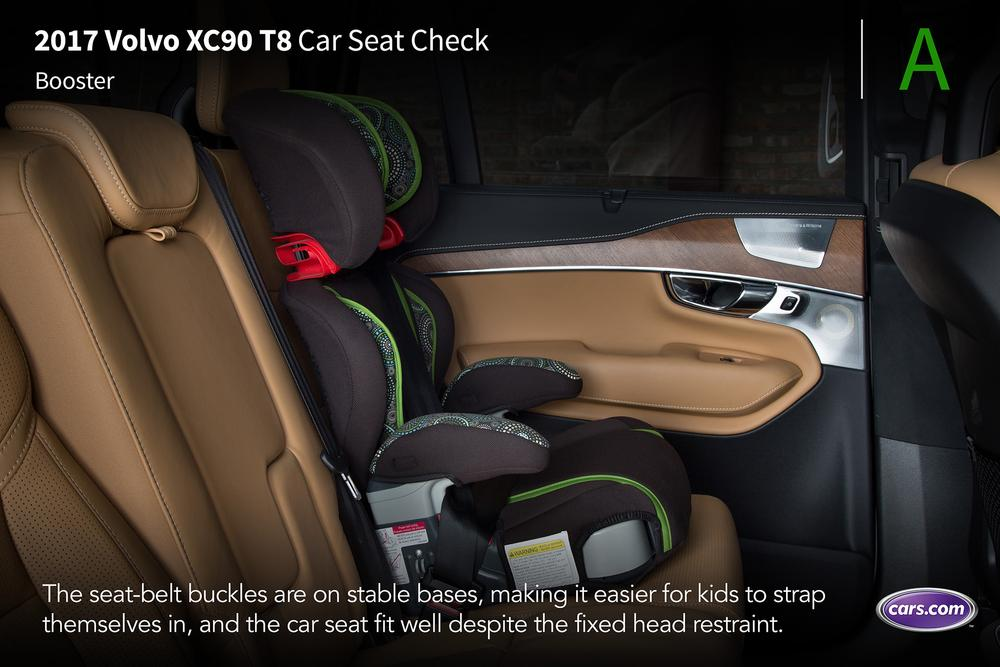 Best Value Used Suv >> 2017 Volvo XC90 Hybrid T8: Car Seat Check