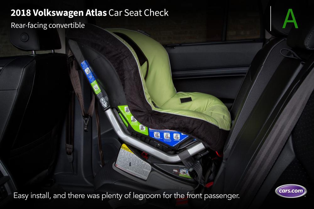 2018 Volkswagen Atlas: Car Seat Check | News | Cars.com