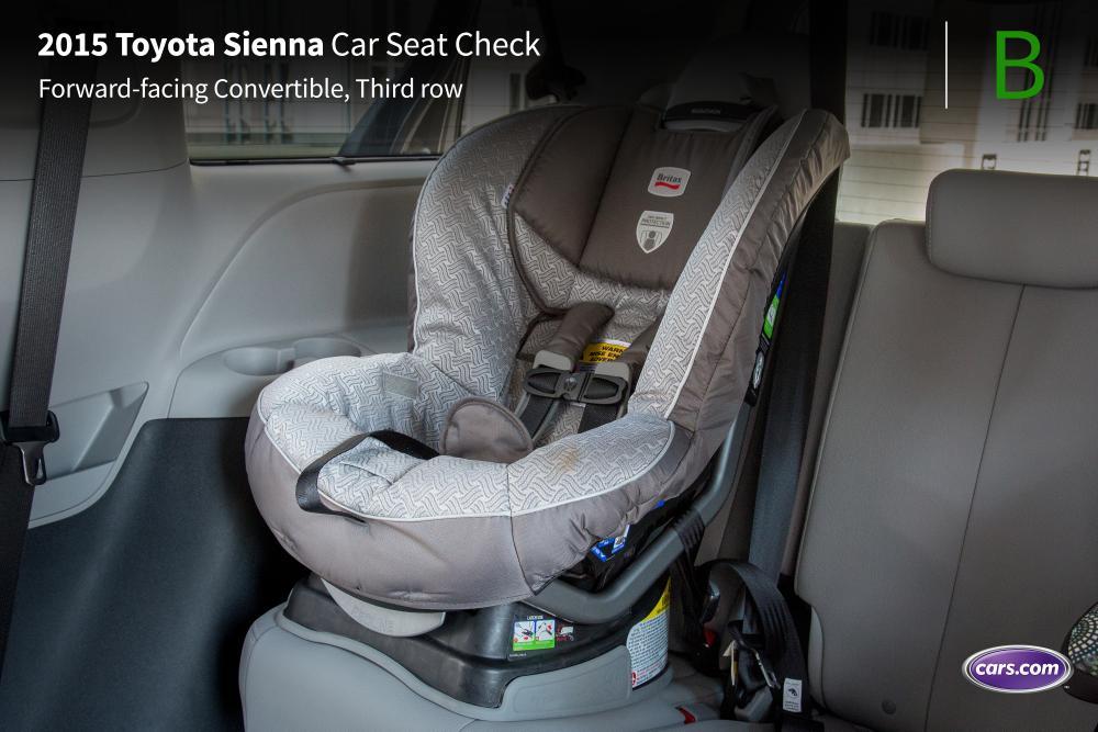 2015 Toyota Sienna Car Seat Check News Cars Com