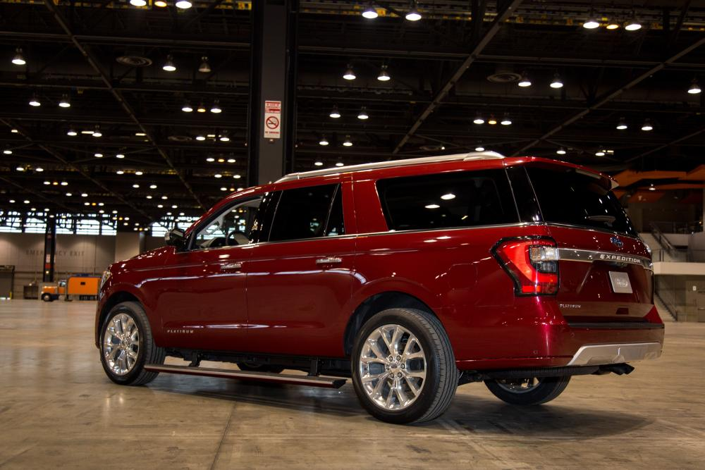 2018 Ford Expedition at 2017 Chicago Auto Show | News | Cars.com