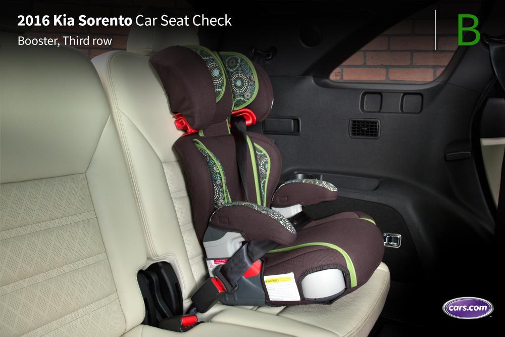 2016 kia sorento with optional third row car seat check news. Black Bedroom Furniture Sets. Home Design Ideas