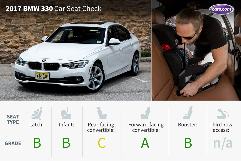 2017 Bmw 330i Car Seat Check News Cars Com