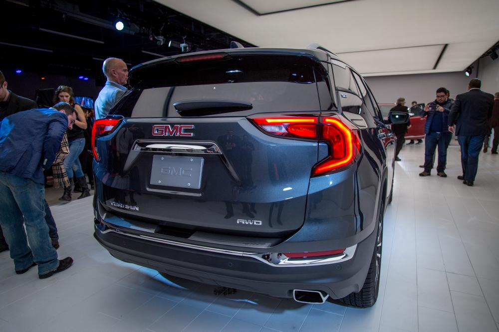 Lastest 2018 GMC Terrain Review First Impressions And Photo