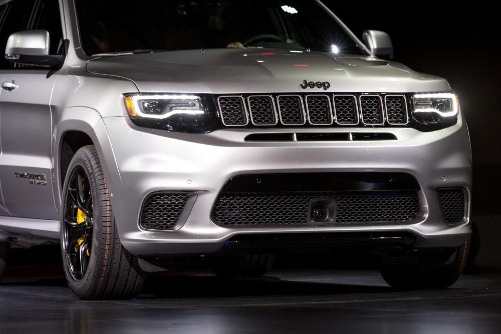 Original 2018 Jeep Grand Cherokee Trackhawk First Impressions And