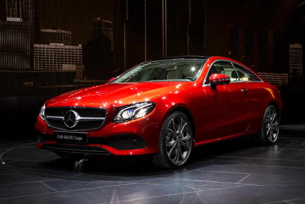 Model 2018 MercedesBenz EClass Coupe First Impressions And