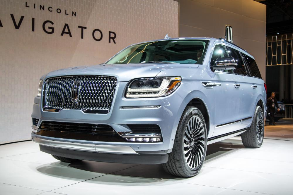 Fantastic 2018 Lincoln Navigator Review First Impressions