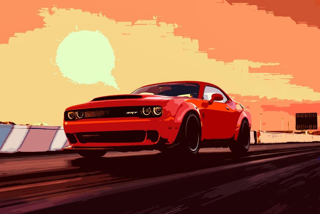 Progressive Snapshot Reviews >> Dodge Challenger Demon Sets Social Media Ablaze News   Cars.com