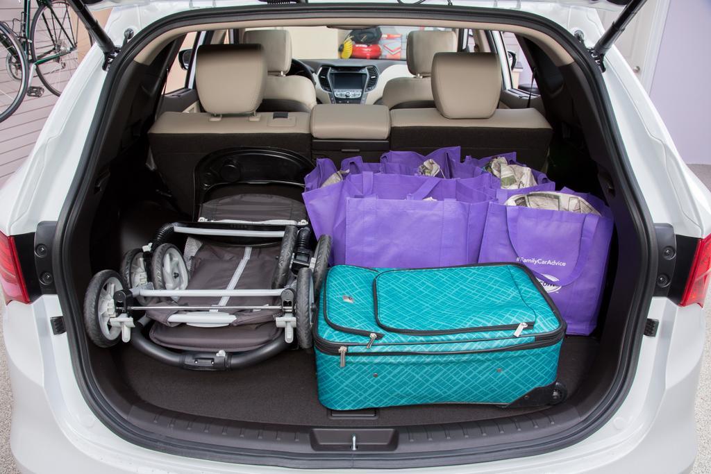 Cargo conundrum hyundai tucson versus santa fe sport news for Hyundai santa fe sport interior dimensions