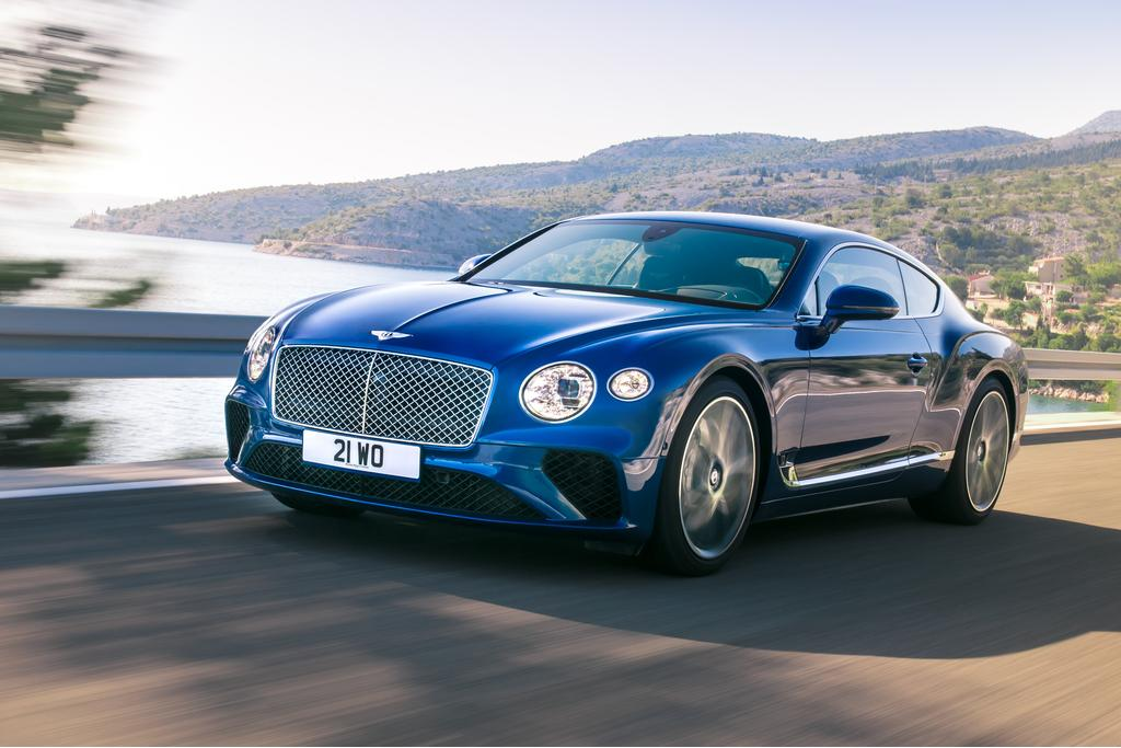 Bentley unveils details of new Continental GT