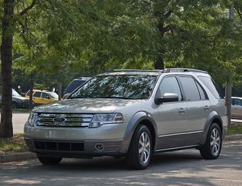 2008 ford taurus x our review. Black Bedroom Furniture Sets. Home Design Ideas