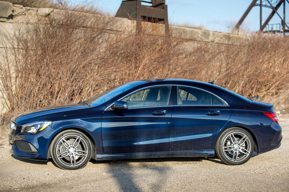 2017 mercedes benz cla 250 our review. Black Bedroom Furniture Sets. Home Design Ideas