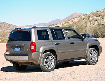 2007 jeep patriot our review. Black Bedroom Furniture Sets. Home Design Ideas
