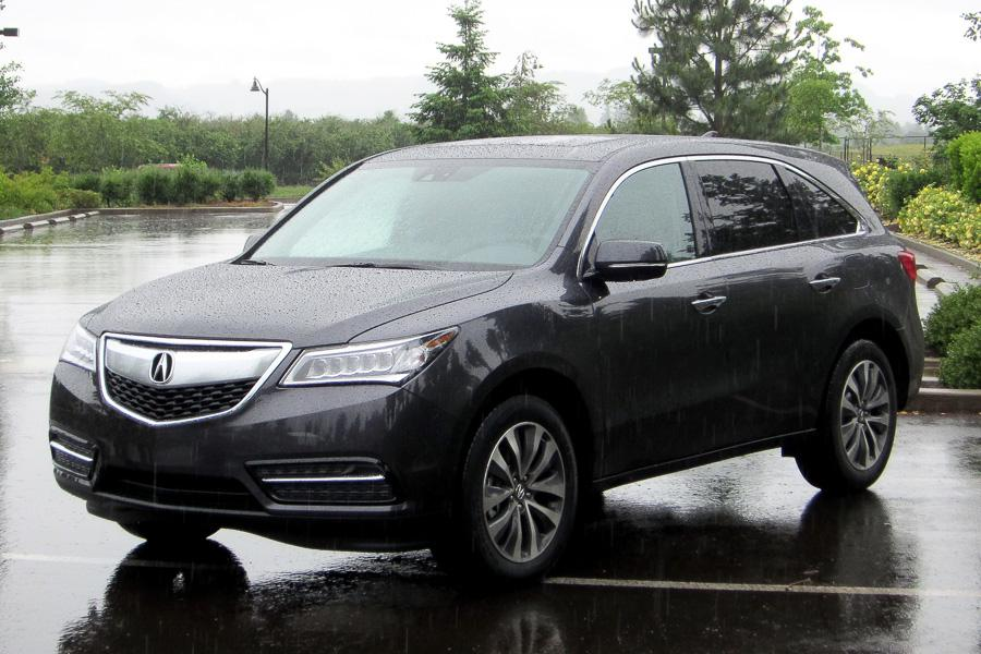 2014 acura mdx our review. Black Bedroom Furniture Sets. Home Design Ideas