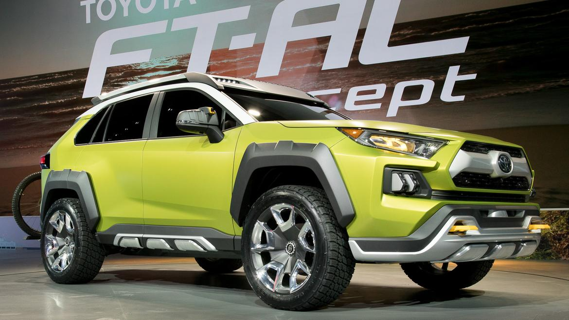 Is Toyota Ft Ac Concept In L A A Future Rav4 News