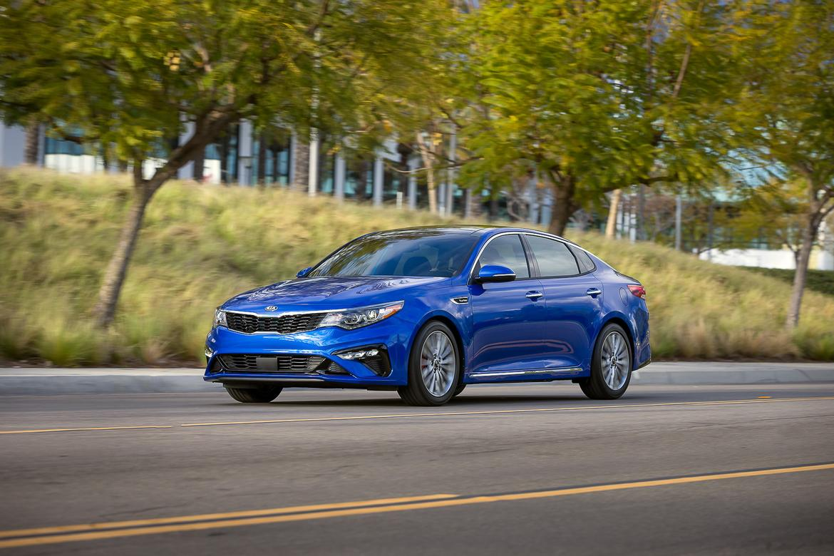 Kia Optima gets a facelift