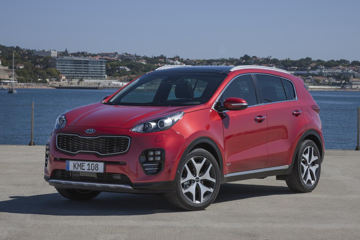 new kia sportage debuts at frankfurt motor show news. Black Bedroom Furniture Sets. Home Design Ideas