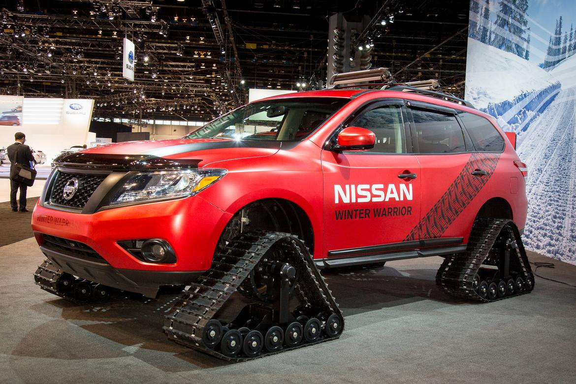 Nissan Winter Warrior Concepts Photo Gallery News Cars Com