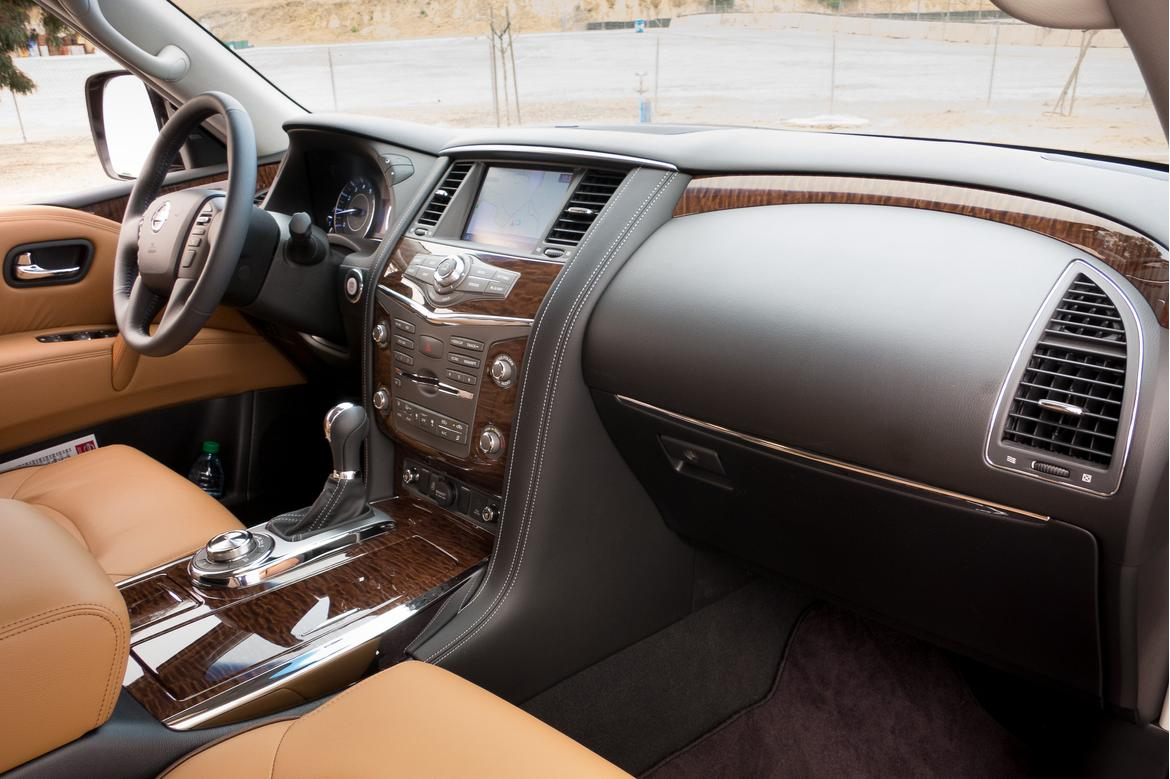 2017 nissan armada review first drive news. Black Bedroom Furniture Sets. Home Design Ideas