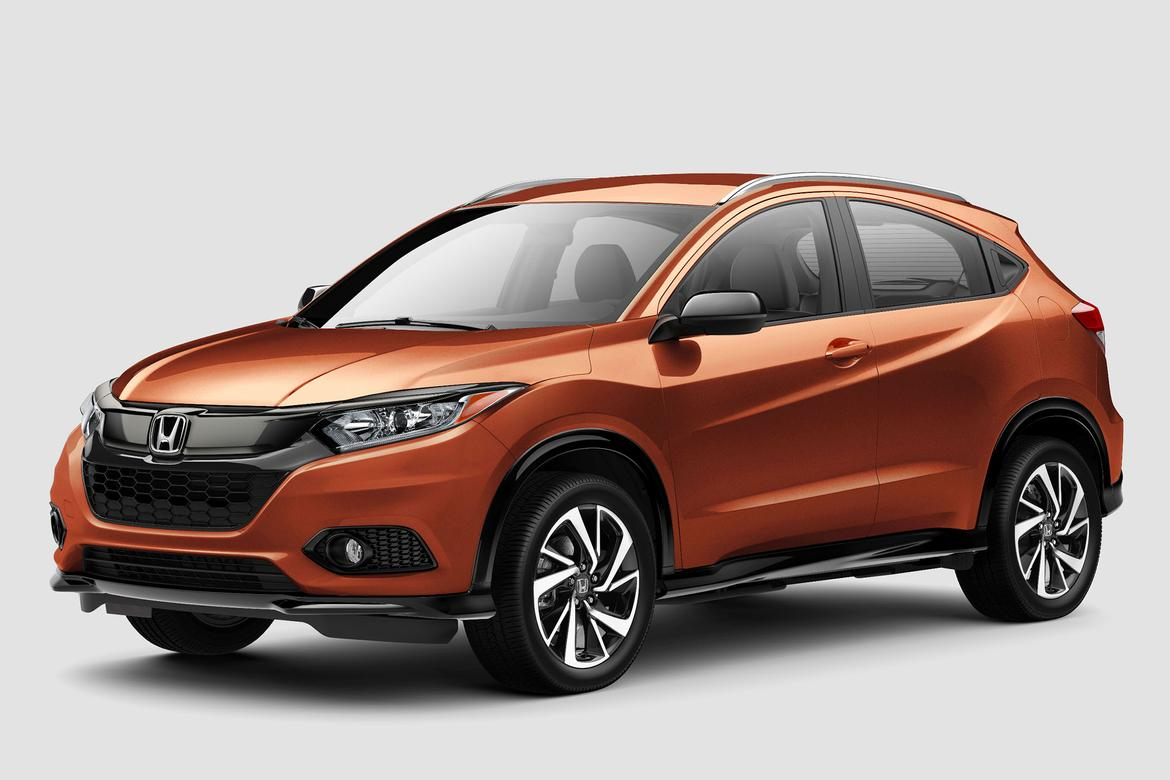 2019 Honda Hr V Drops Stick Raises Prices And Adds New Models