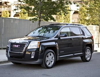 2011 gmc terrain our review. Black Bedroom Furniture Sets. Home Design Ideas