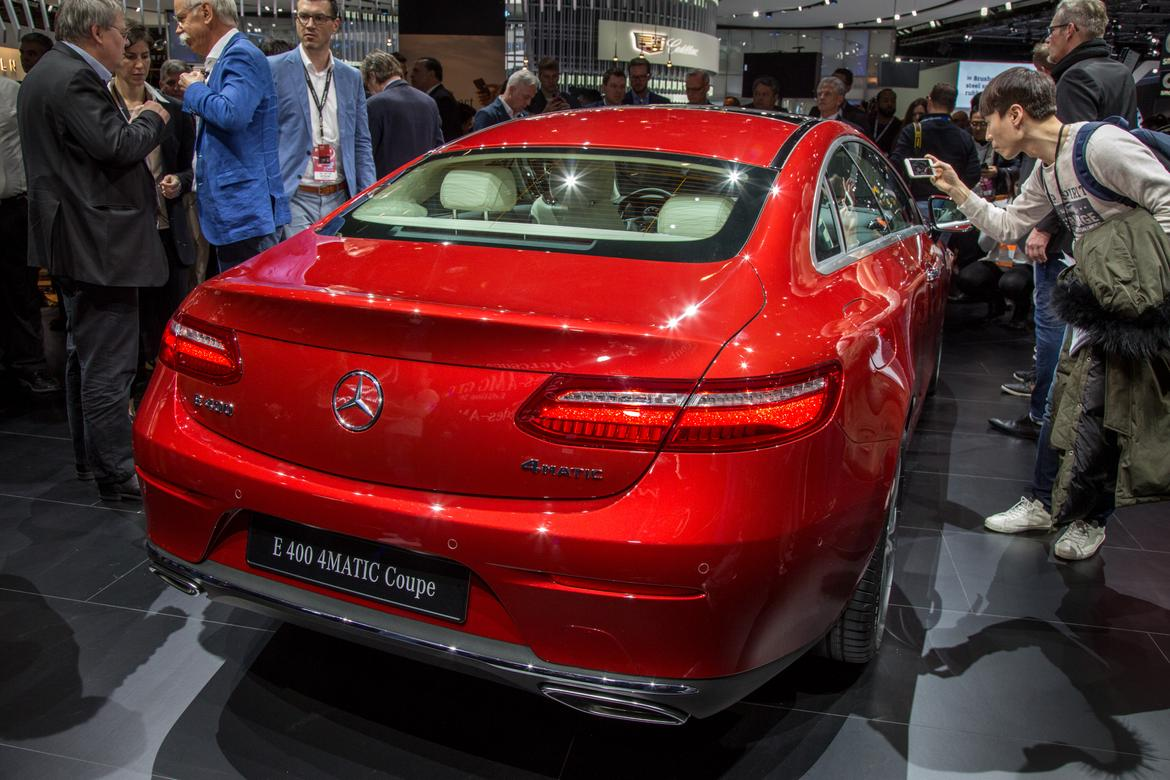 Innovative 2018 MercedesBenz EClass Coupe First Impressions And