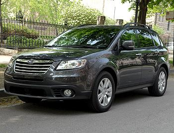2008 subaru tribeca our review. Black Bedroom Furniture Sets. Home Design Ideas