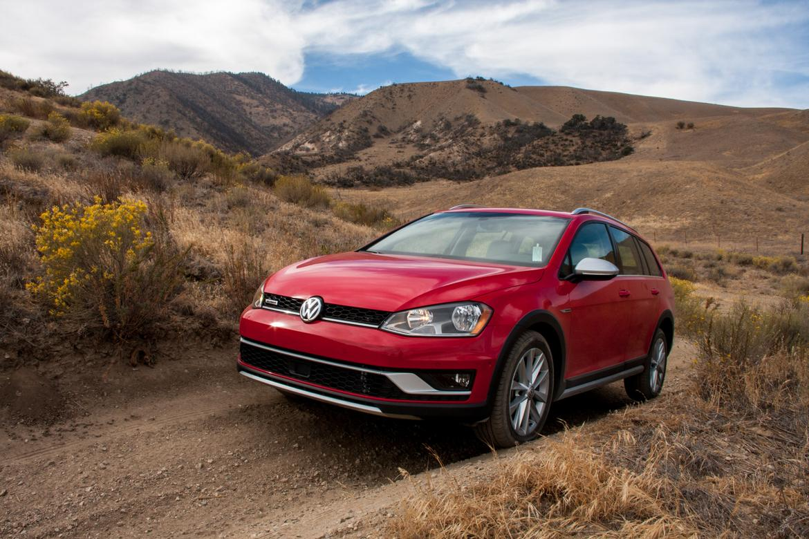 how capable is the volkswagen golf alltrack off road news cars com