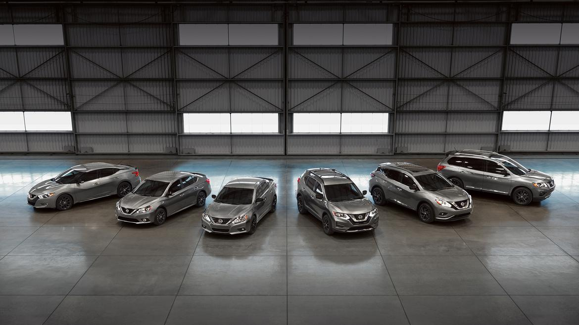 Nissan Takes 6 Models to the Dark Side With Midnight ...