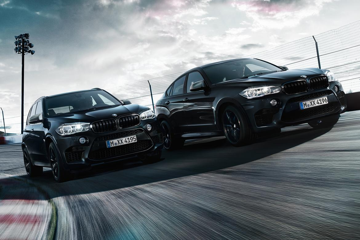 bmw x5 m and x6 m get special black fire editions news. Black Bedroom Furniture Sets. Home Design Ideas