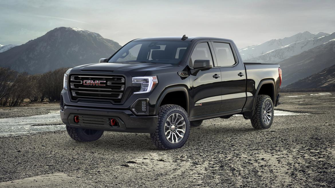 GMC Reveals All-New AT4 Off-Road Package for All-New 2019 ...