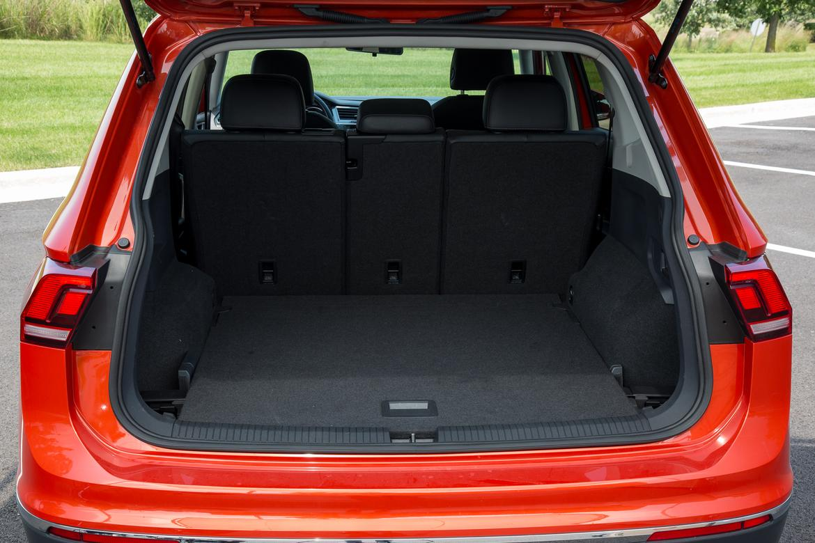 2018 Volkswagen Tiguan Real World Cargo Space News Cars Com