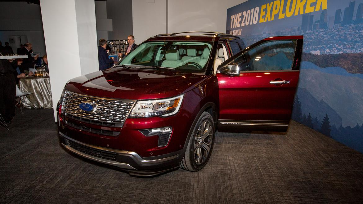 2018 Ford Explorer Preview News Cars Com