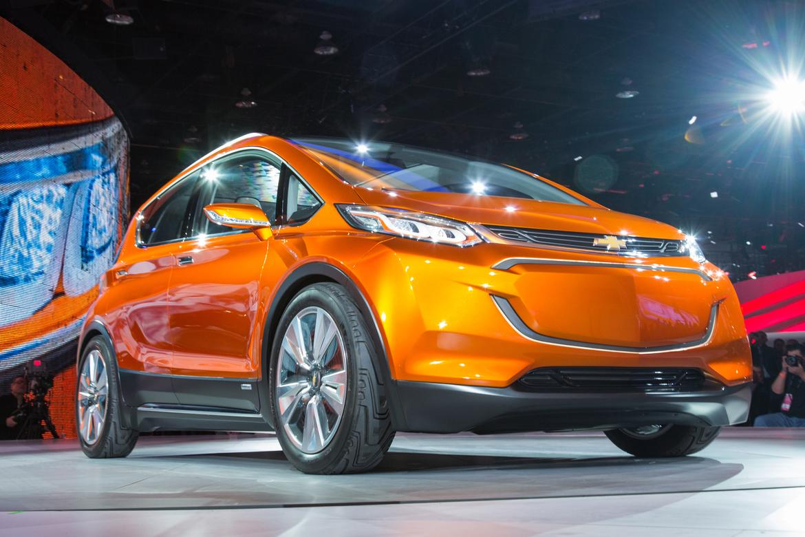 Chevy Bolt EV production model unveiling imminent