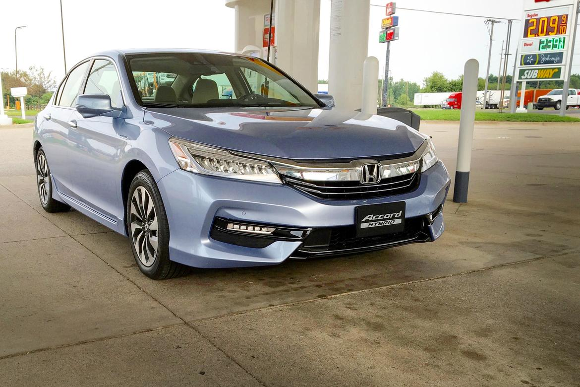 2017 honda accord hybrid real world mileage news