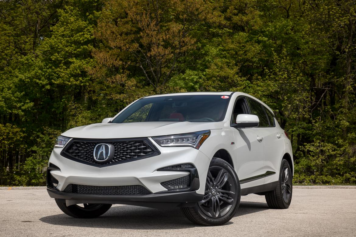 2019 acura rdx first drive finally not a warmed over honda news. Black Bedroom Furniture Sets. Home Design Ideas