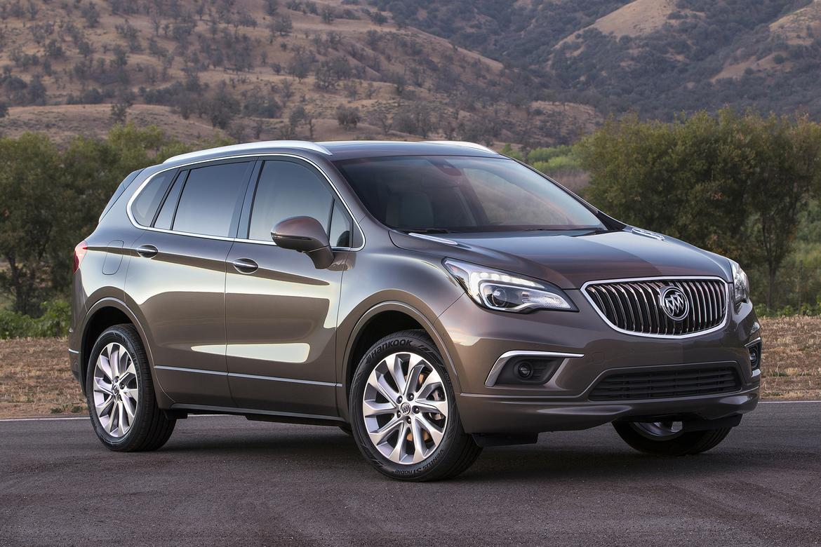 buick to import 2016 envision suv from china news. Black Bedroom Furniture Sets. Home Design Ideas
