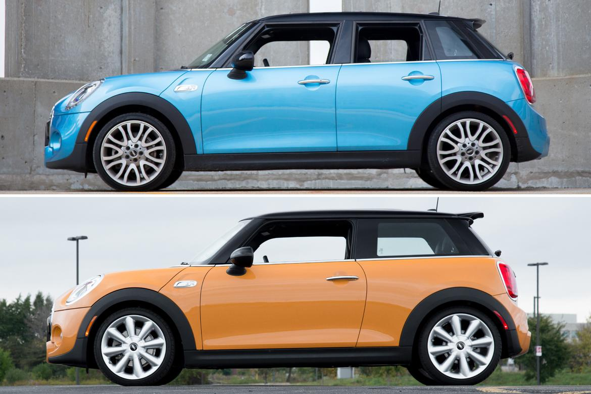 2016 Mini Hardtop Four Door What Two Extra Doors Get You