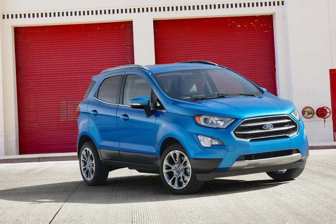 2018 ford ecosport preview news. Black Bedroom Furniture Sets. Home Design Ideas
