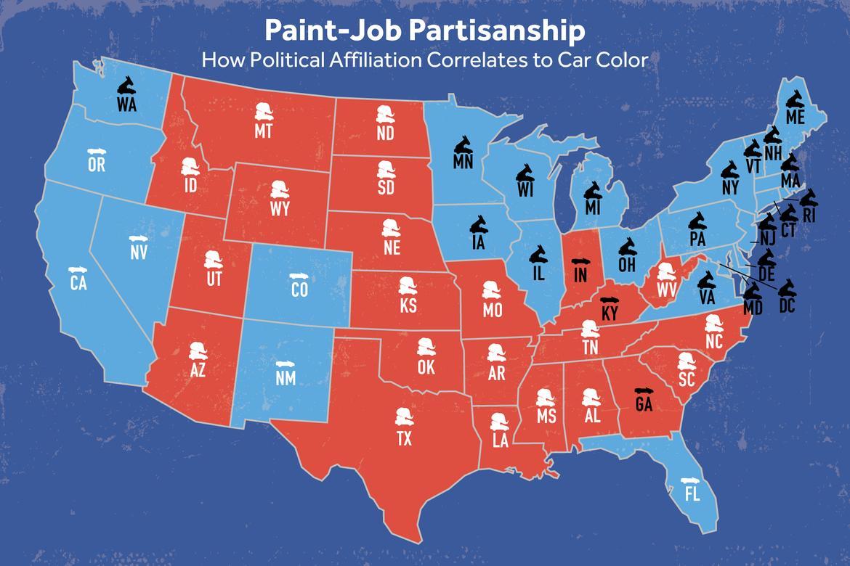 Car colour heat absorption - Political Map_dem_vs_rep_map_3 2 Jpg