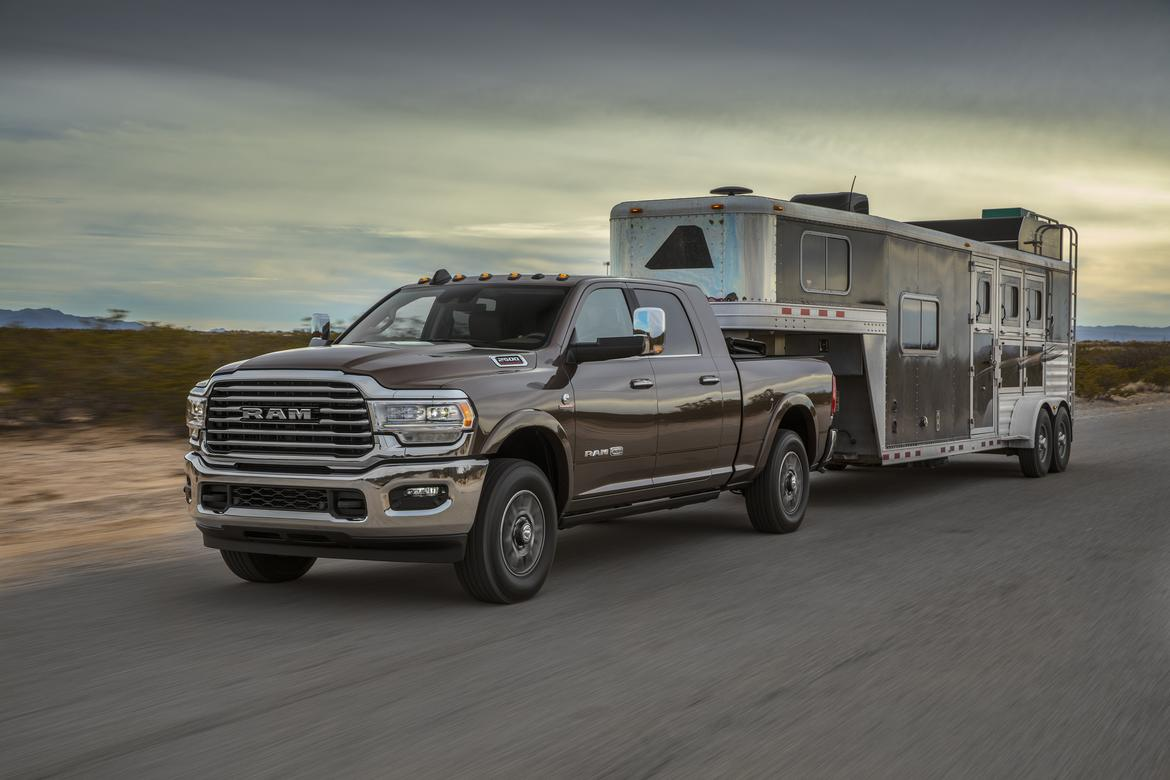 27-ram-2500-2019-angle--brown--dynamic--exterior--front--towing.