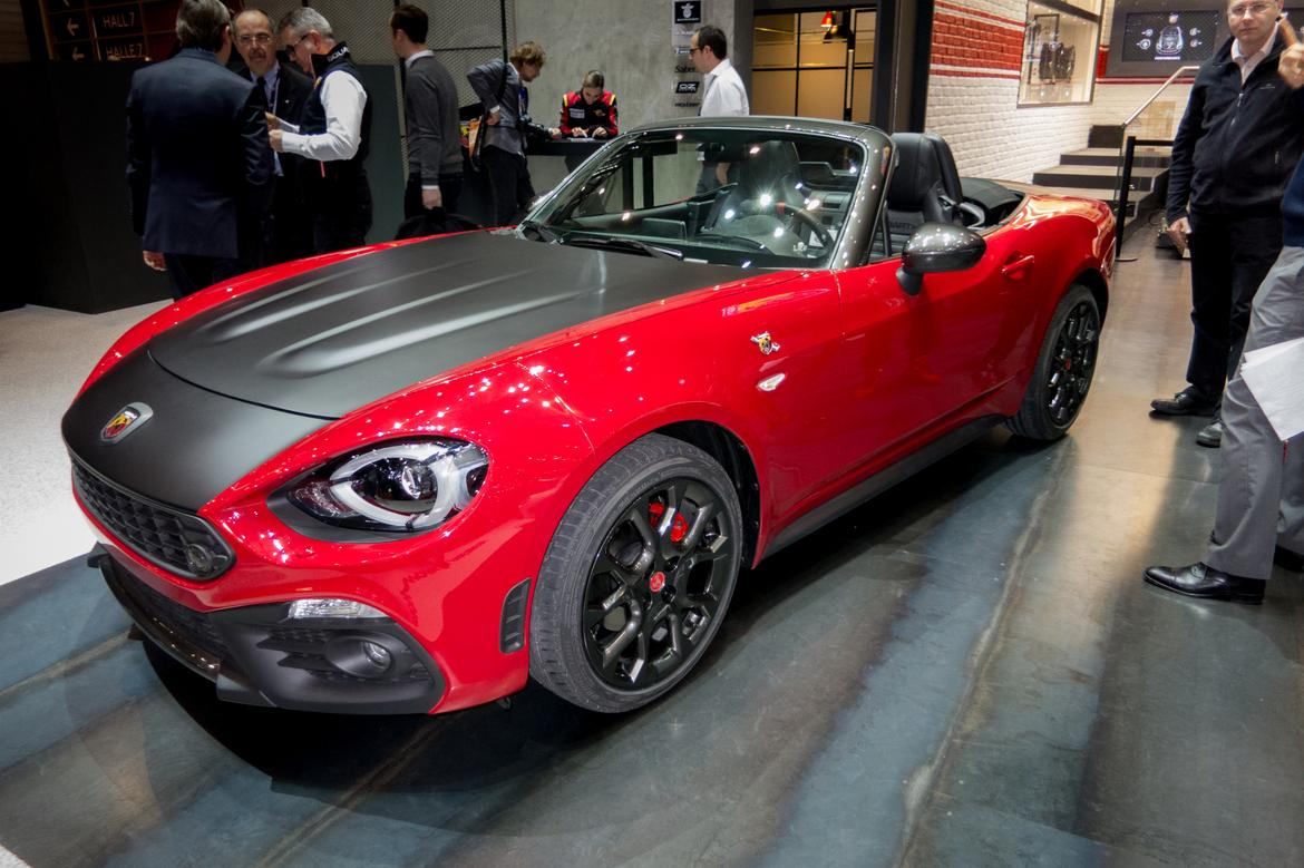 Perfect 2017 Fiat Abarth 124 Spider First Impressions  News