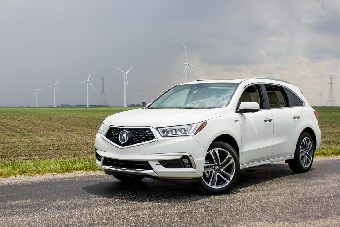 2017 acura mdx sport hybrid our review. Black Bedroom Furniture Sets. Home Design Ideas