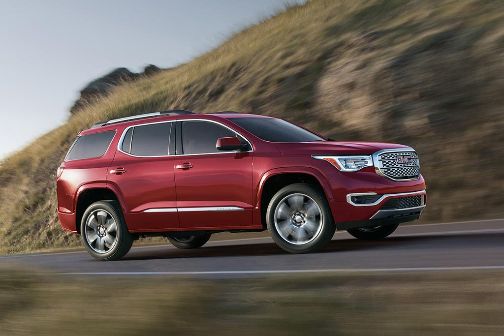GMC Announces Pricing for 2017 Acadia