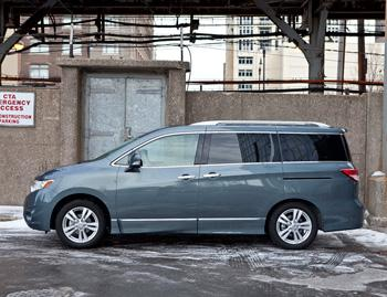 2012 nissan quest our review. Black Bedroom Furniture Sets. Home Design Ideas
