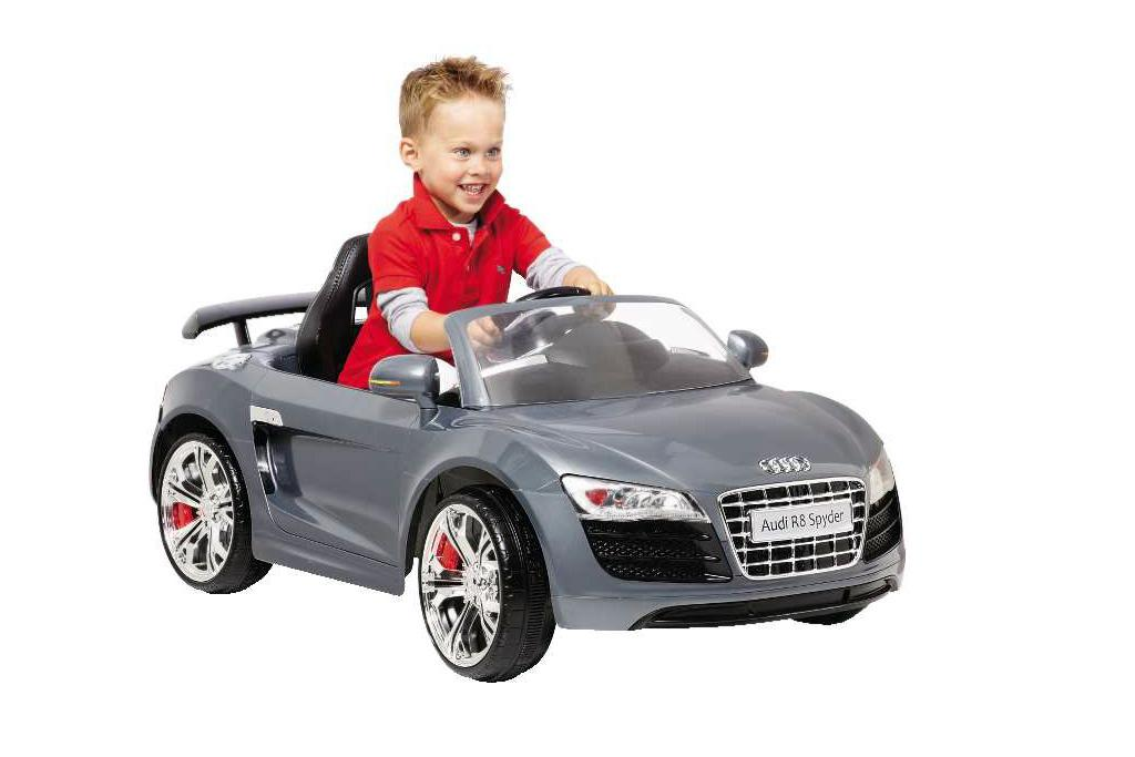 Audi r8 spyder toy car charger 10