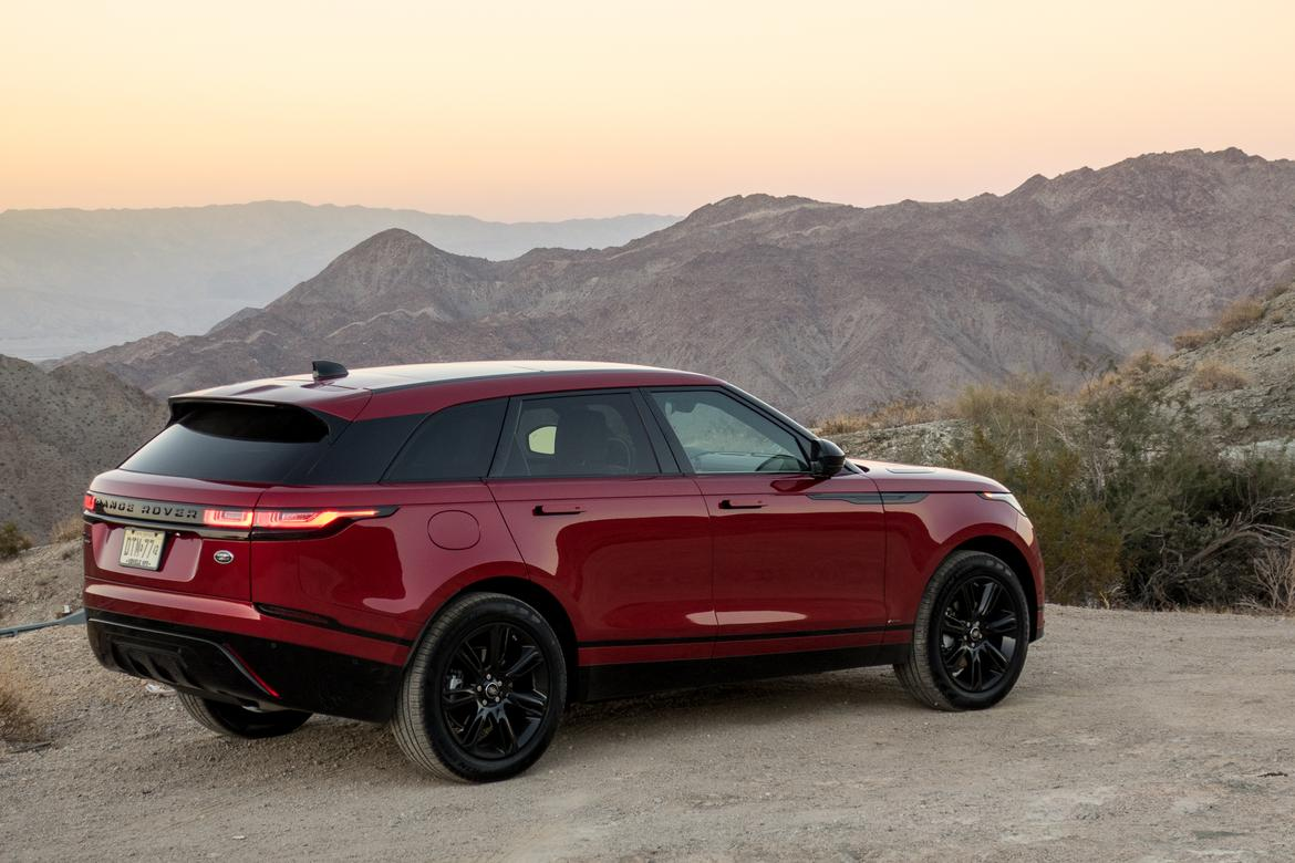 2018 land rover range rover velar our review. Black Bedroom Furniture Sets. Home Design Ideas