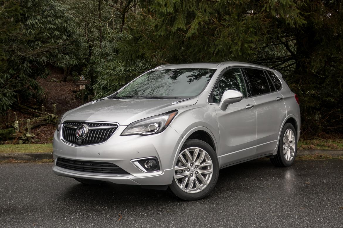 2019 Buick Envision First Drive More Of The Same News Cars Com