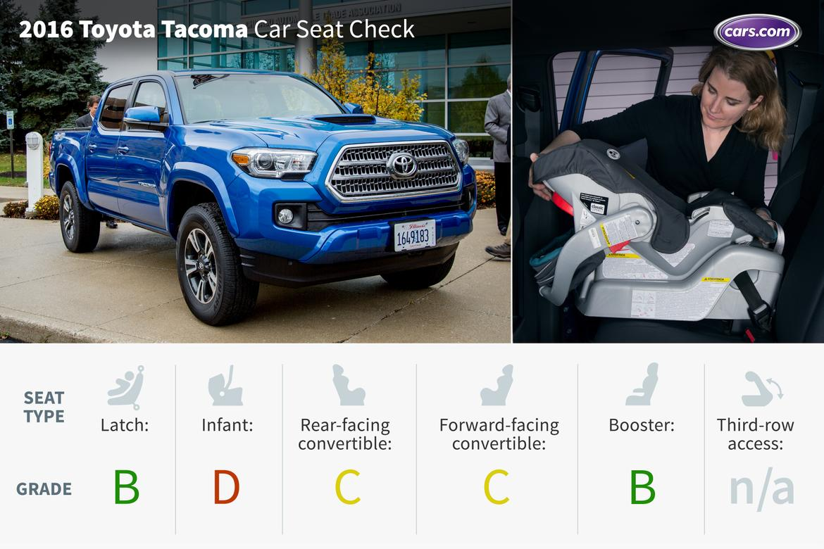 2016 toyota tacoma car seat check news. Black Bedroom Furniture Sets. Home Design Ideas